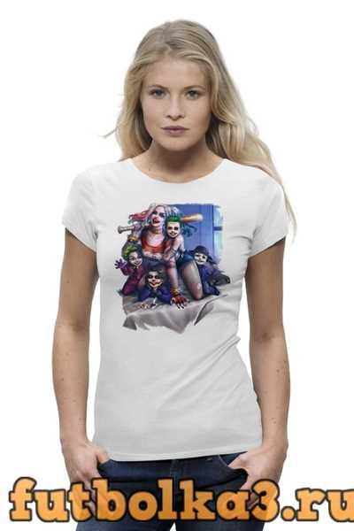 Футболка Harley Quinn Family женская
