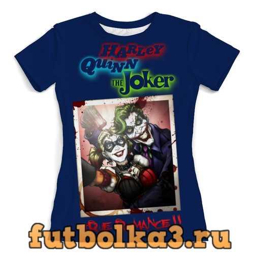 Футболка Harley Quinn & Joker женская