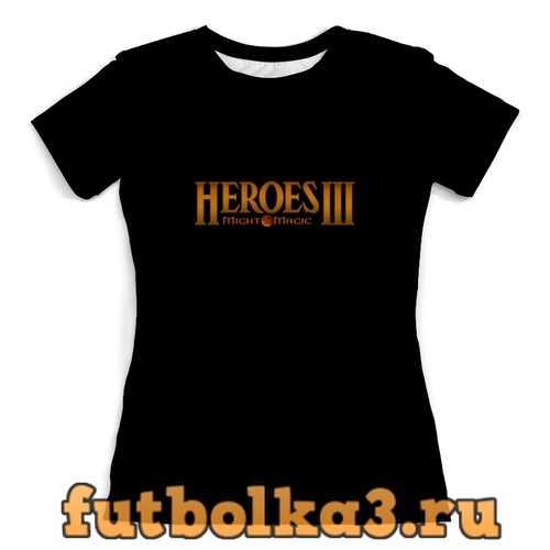 Футболка Heroes 3 женская