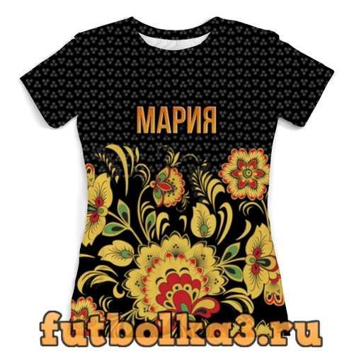 Футболка Хохлома Мария женская