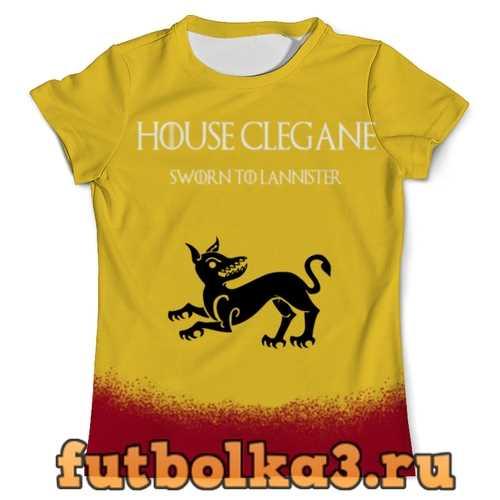 Футболка House Clegane мужская