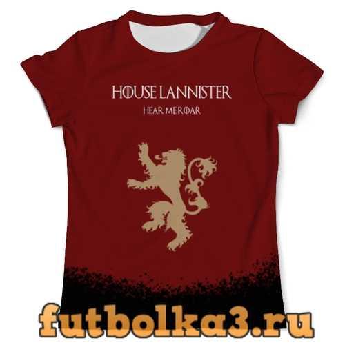 Футболка House Lannister мужская