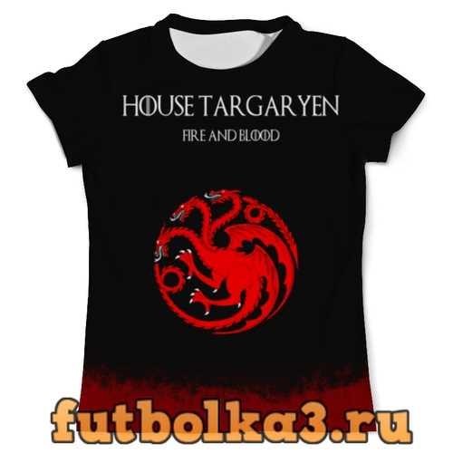 Футболка House Targaryen мужская