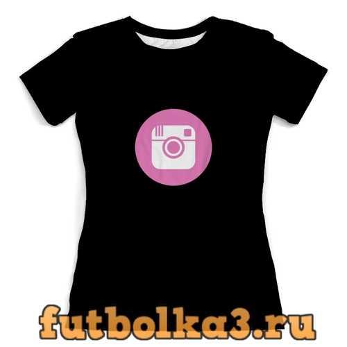 Футболка Instagram женская