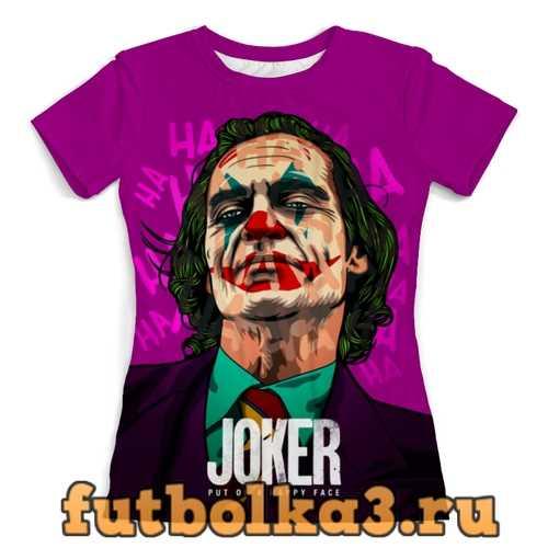 Футболка JOKER (Joaquin Phoenix) женская