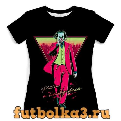 Футболка Joker женская