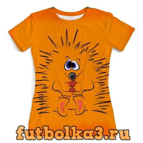 Футболка Ёжик женская