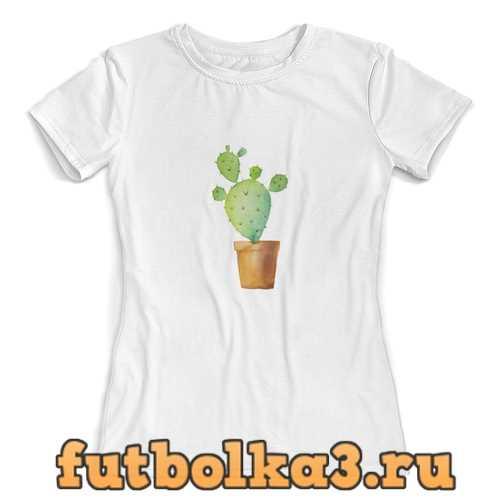 Футболка кактус женская