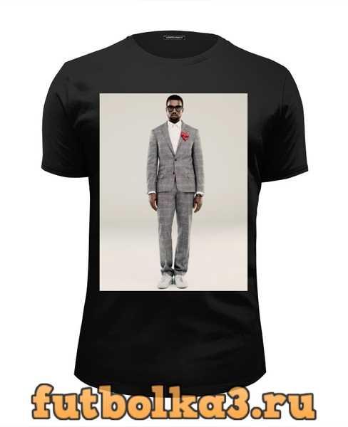 Футболка Kanye West мужская