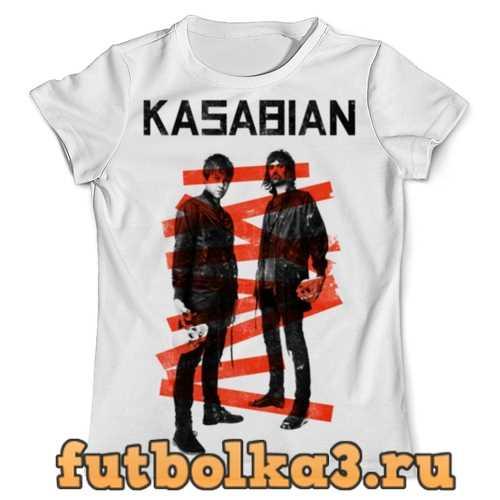Футболка Kasabian мужская