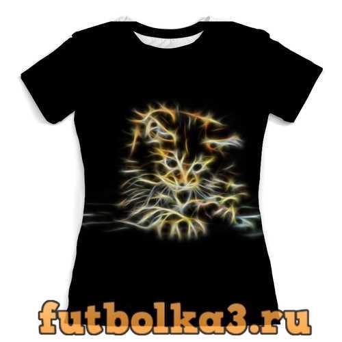 Футболка Котенок женская