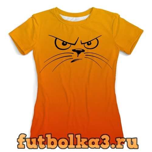 Футболка Котэ женская