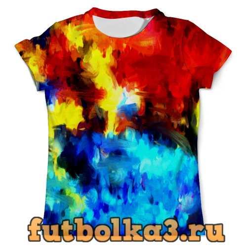 Футболка Краска мужская