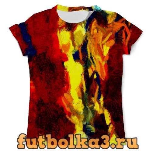 Футболка Краски мужская