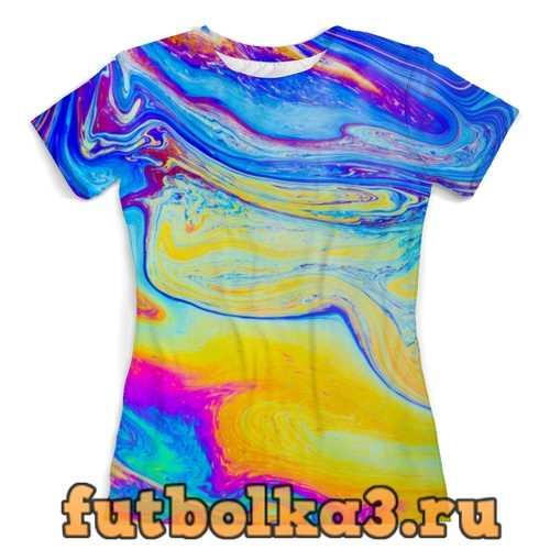 Футболка Краски женская