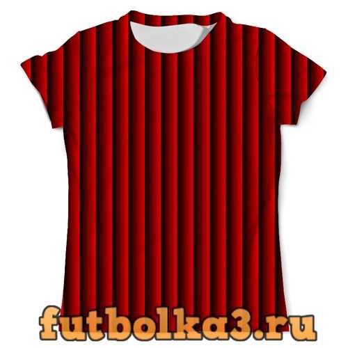 Футболка Красные полосы мужская