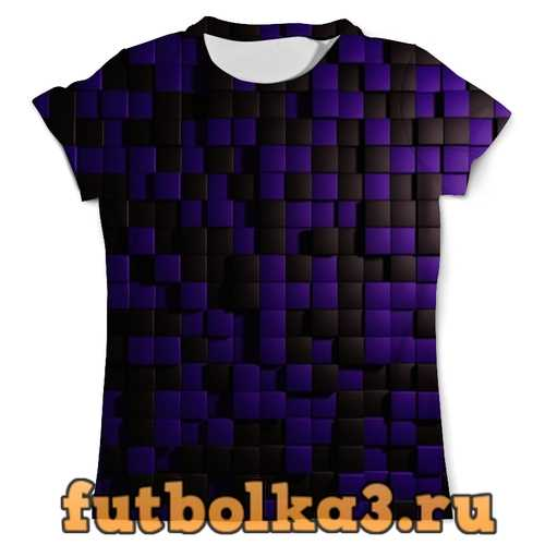 Футболка Кубики мужская