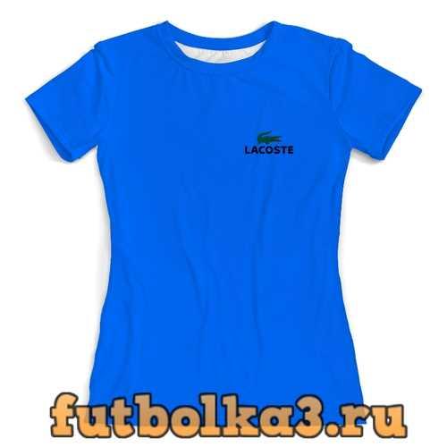 Футболка Lacoste женская