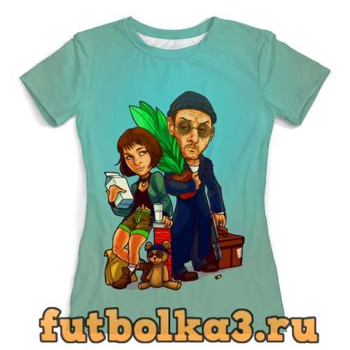 Футболка Leon and Mathilda женская