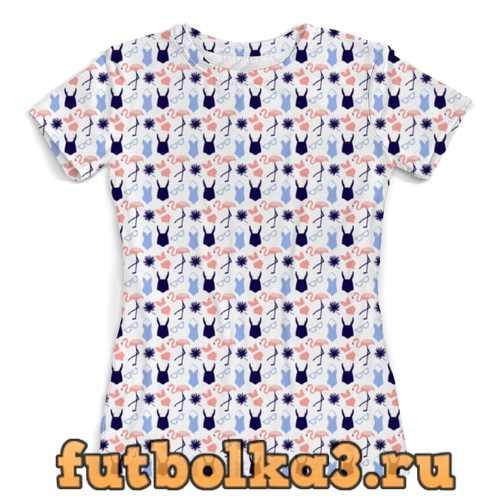 Футболка Лето. женская
