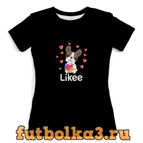 Футболка Likee женская