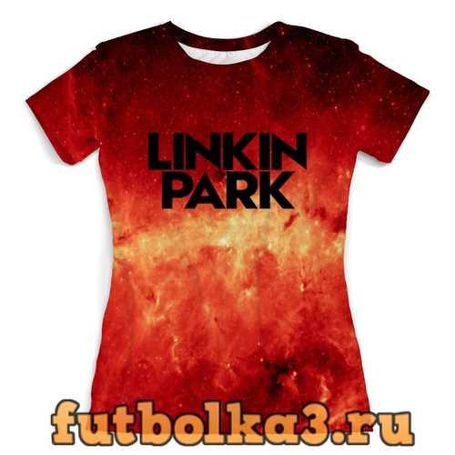 Футболка Linkin park женская