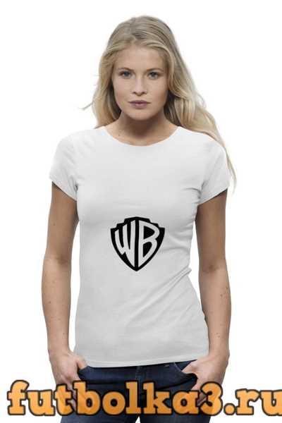 Футболка Логотип WB женская
