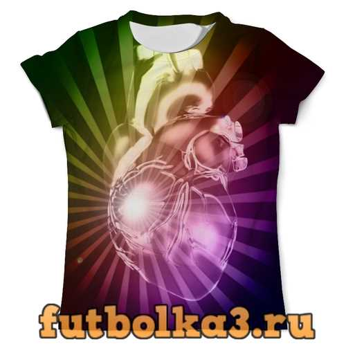 Футболка Лучистое сердце мужская
