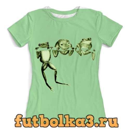 Футболка Лягушки женская