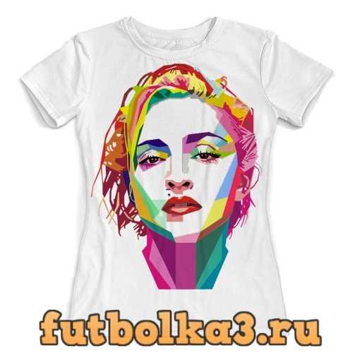 Футболка Мадонна женская