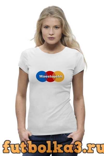 Футболка MAESTROebli женская