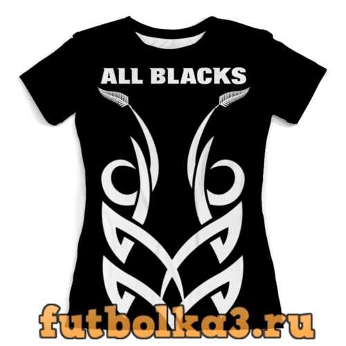 Футболка Maori Rugby женская