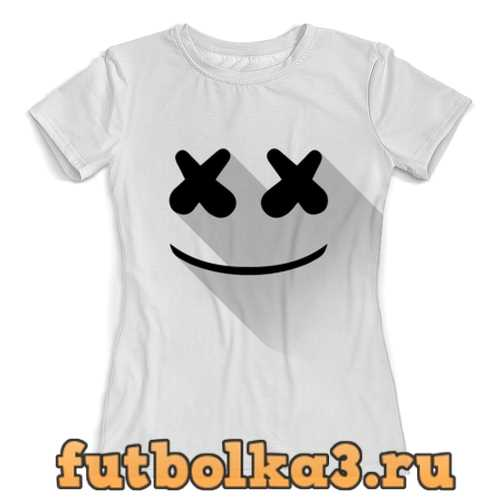 Футболка Marshmello женская