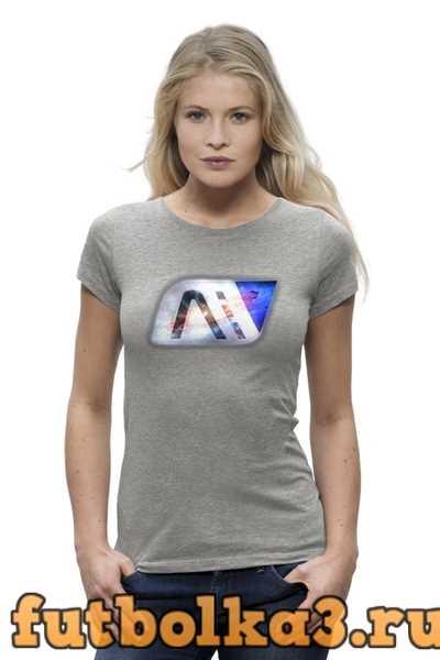 Футболка Mass effect Andromeda женская