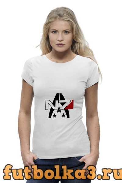 Футболка Mass Effect N7 женская