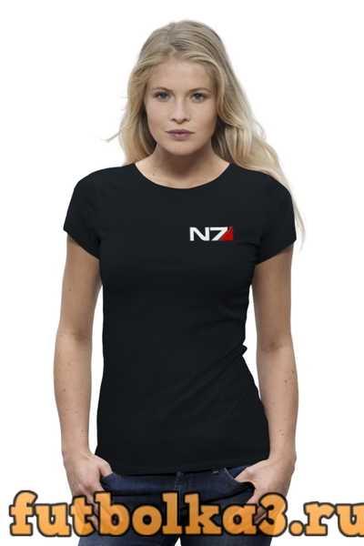 Футболка Mass Effect женская