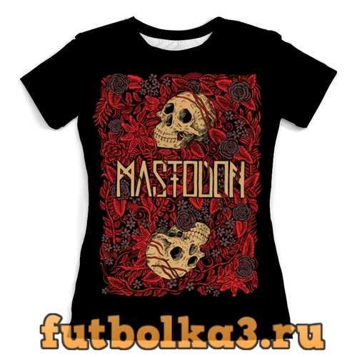 Футболка Mastodon Band женская