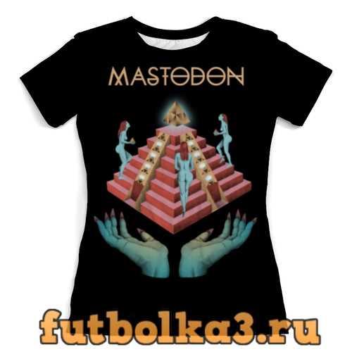 Футболка Mastodon женская