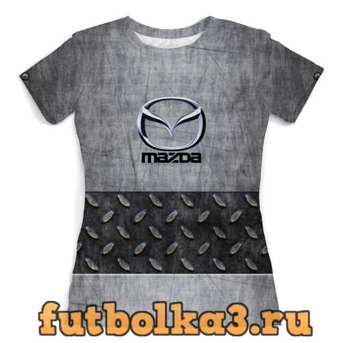 Футболка Mazda женская