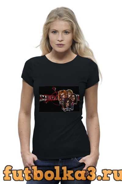 Футболка Megadeth женская
