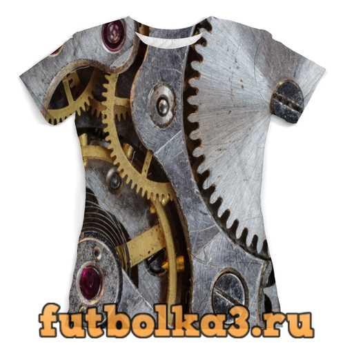 Футболка Механизм женская