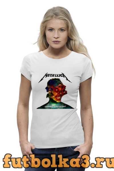Футболка Metallica Band женская