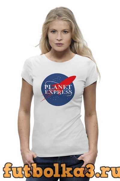 Футболка Межпланетный экспресс (Футурама) женская