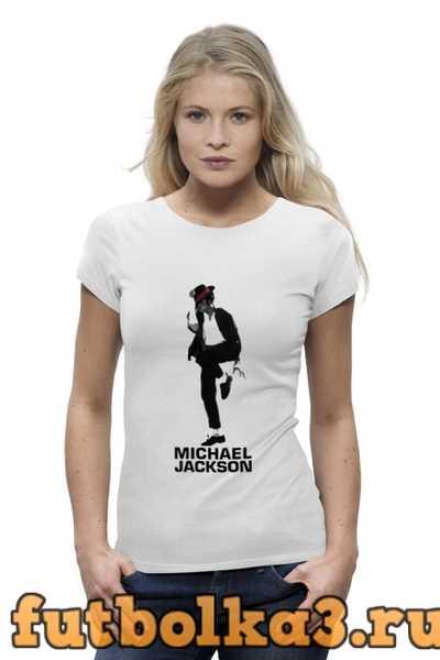 Футболка Michael Jackson женская