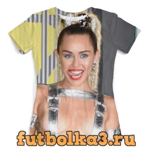 Футболка Miley Cyrus женская