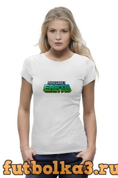 Футболка Minecraft женская
