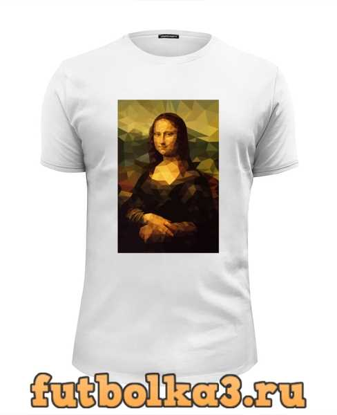 Футболка Мона Лиза (Mona Lisa) мужская