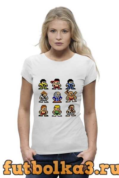 Футболка Мортал Комбат (Mortal Kombat) женская