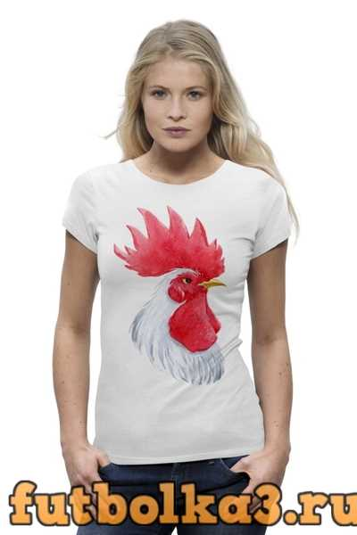 Футболка Mr. White Rooster женская