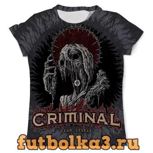 Футболка МУЗЫКА. GRIMINAL мужская